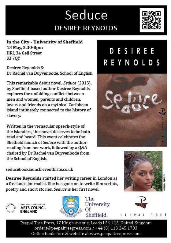 Seduce flyer - University of Sheffield In the City festival (web)